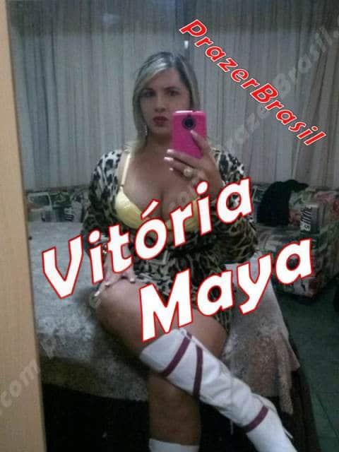 1VitoriaMayaCapa DF - Travesti