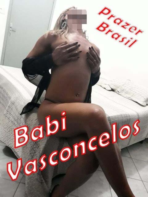 1BabiVasconcelosTransCapa Babi Vasconcelos