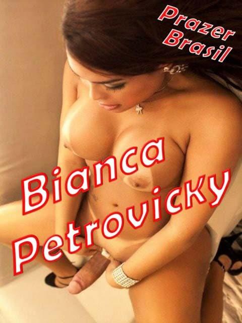 1BiancPetrovickyTransCapa São Paulo - Travestis